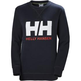 Helly Hansen HH Logo Felpa girocollo Donna, blu